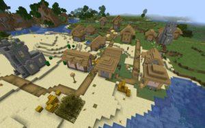 Три деревни и аванпост 1.17.1, 1.16.5